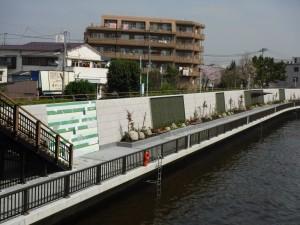 中川護岸(30)完成